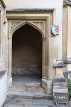 All Souls College Chapel Entrance