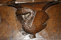 All Souls College Chapel Misericord