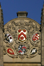 All Souls College Dining Hall Exterior Cartouche