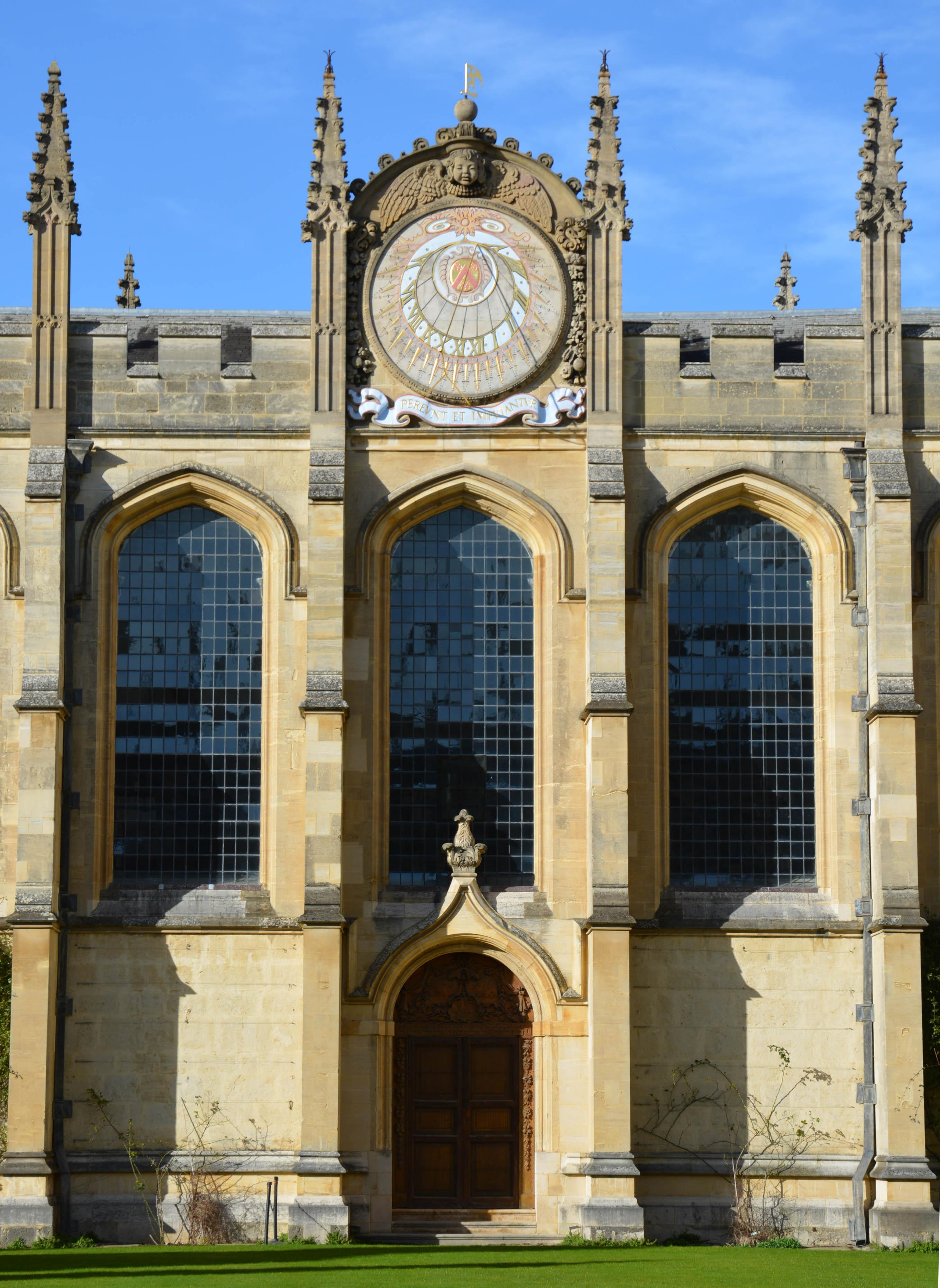 Wren sundial - All Souls College