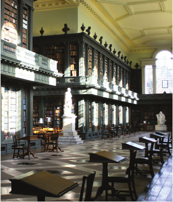 Great Library, interior view.